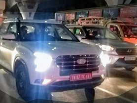 All New Hyundai Creta Spied Alongside Old Model