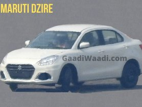 2020 Maruti Dzire Facelift To Be The Most Fuel-efficient Petrol Sedan in India