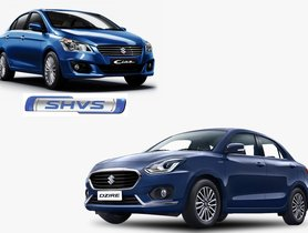 Maruti Dzire To Get Hybrid System of Ciaz, More Mileage Guaranteed