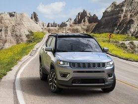 Jeep Compass Outsells VW Polo, Vento, Ameo and Tiguan Single-handedly