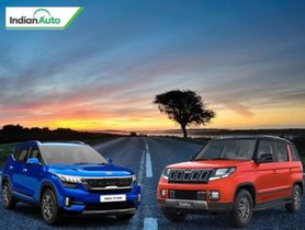 Kia Seltos vs Mahindra TUV 300 Comparison: Which SUV Is Best To Buy?
