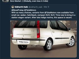 Confirmed - Tata Motors In No Mood To Launch Indigo Marina-successor