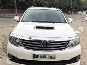 2012 Toyota Fortuner 3.0 4x4 Diesel MT for sale in New Delhi