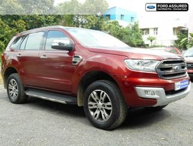 2017 Ford Endeavour 3.2 Titanium 4X4 AT for sale in Chennai