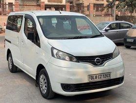 Used 2013 Nissan Evalia XV MT for sale in New Delhi