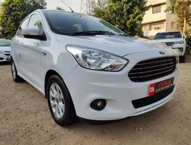 Used 2016 Ford Aspire Titanium MT for sale in Ahmedabad