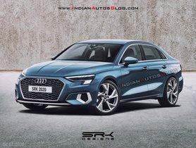 India-Bound Audi A3 Sedan Imagined Digitally