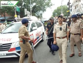 Lucknow Cops Take Impounded SUV For A Joyride, Owner Remotely Locks Them Inside