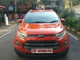 Used 2015 Ford EcoSport 1.5 TDCi Titanium MT for sale in Bangalore