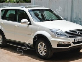 2013 Mahindra Ssangyong Rexton RX7 AT in Hyderabad