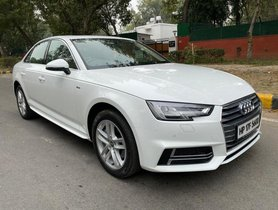 Used Audi A4 New 2019 AT for sale in New Delhi