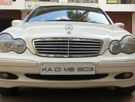 2002 Mercedes Benz C-Class MT for sale in Bangalore