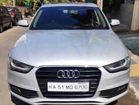 2013 Audi A4 2.0 TDI 177 Bhp Premium Plus AT in Bangalore