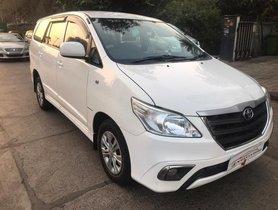 2015 Toyota Innova 2.5 G (Diesel) 8 Seater BS IV MT for sale in Mumbai