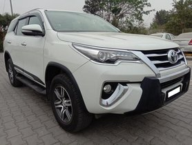 Used 2017 Toyota Fortuner 2.8 2WD MT for sale in Bangalore
