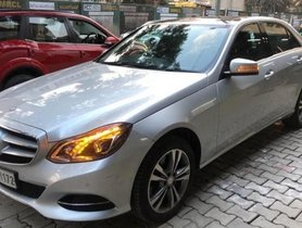 Used 2016 Mercedes Benz E Class AT in Bangalore