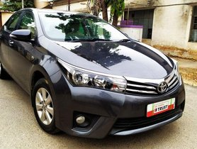 Toyota Corolla Altis 1.8 G CVT 2016 AT in Bangalore