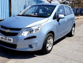 Used Chevrolet Sail Hatchback 1.2 LS ABS 2013 MT in Pune