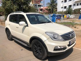2013 Mahindra Ssangyong Rexton RX7 AT for sale in Bangalore