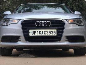 2014 Audi A6 2.0 TDI AT in New Delhi