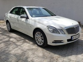 Mercedes Benz E Class 2011 AT for sale in New Delhi