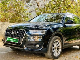 Used 2014 Audi Q3 2012-2015 AT for sale in Bangalore