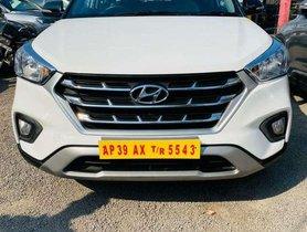 Hyundai Creta 1.6 E Plus 2019 MT for sale in Hyderabad