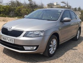 2015 Skoda Octavia Ambition 2.0 TDI AT for sale in Chennai
