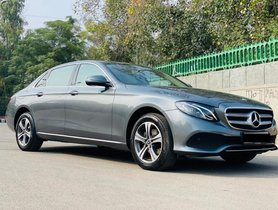 2018 Mercedes Benz E Class E 220 d AT for sale in New Delhi