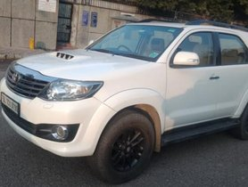 Used 2015 Toyota Fortuner 4x2 4 Speed AT in New Delhi