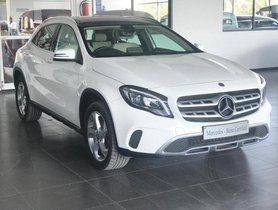Used 2018 Mercedes Benz GLA Class AT for sale in Bangalore