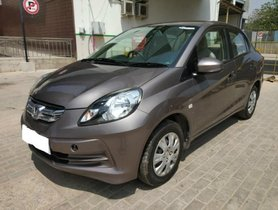 2015 Honda Amaze S i-Vtech MT for sale in Bangalore