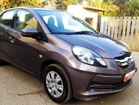 Used Honda Amaze S i-VTEC 2015 MT for sale in Bangalore