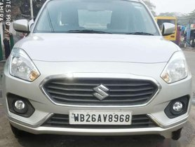 Used Maruti Suzuki Dzire 2017 MT for sale in Kolkata