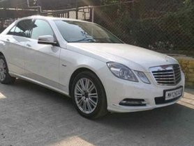 Used 2011 Mercedes Benz E Class AT for sale in Pune