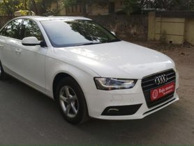 Audi A4 2.0 TDI 177 Bhp Premium Plus 2014 AT for sale in Ahmedabad