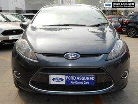 Ford Fiesta Petrol Titanium 2011 MT in Chennai