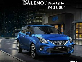 BS6 Maruti Baleno Available With Official Discount of Rs 40,000