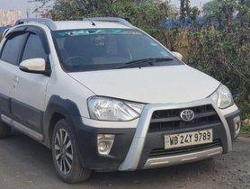 Used 2015 Toyota Etios Cross 1.4L VD MT for sale in Kolkata