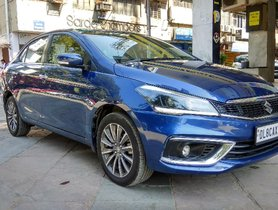 2019 Maruti Suzuki Ciaz Alpha Petrol AT for sale in New Delhi