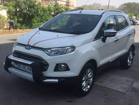 2017 Ford EcoSport Titanium Optional Petrol MT for sale in New Delhi