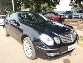 Used 2007 Mercedes Benz E Class AT for sale in Pune