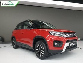 2020 Maruti Vitara Brezza Petrol MT Likely To Come With Mild Hybrid System