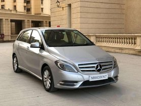 Used 2014 Mercedes Benz B Class Diesel AT for sale in Thane