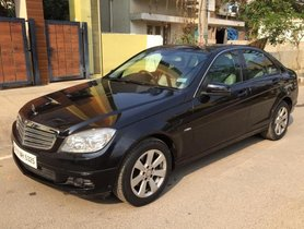 Used 2012 Mercedes Benz C-Class C 200 CGI Avantgarde AT in Bangalore