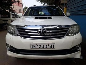 Used Toyota Fortuner 3.0 2013, Diesel MT for sale in Chennai
