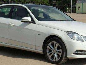 2012 Mercedes Benz E Class AT for sale in Coimbatore