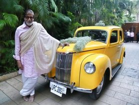 After Rolls Royce and Land Cruiser, Amitabh Bachchan Adds a Vintage Car to his Garage