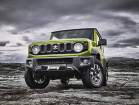 Suzuki Jimny (New Maruti Gypsy) To Be Sold Thru Nexa, Cost Less Than 10 Lakh