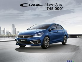 Up to Rs 45,000 off on Maruti Ciaz BS6